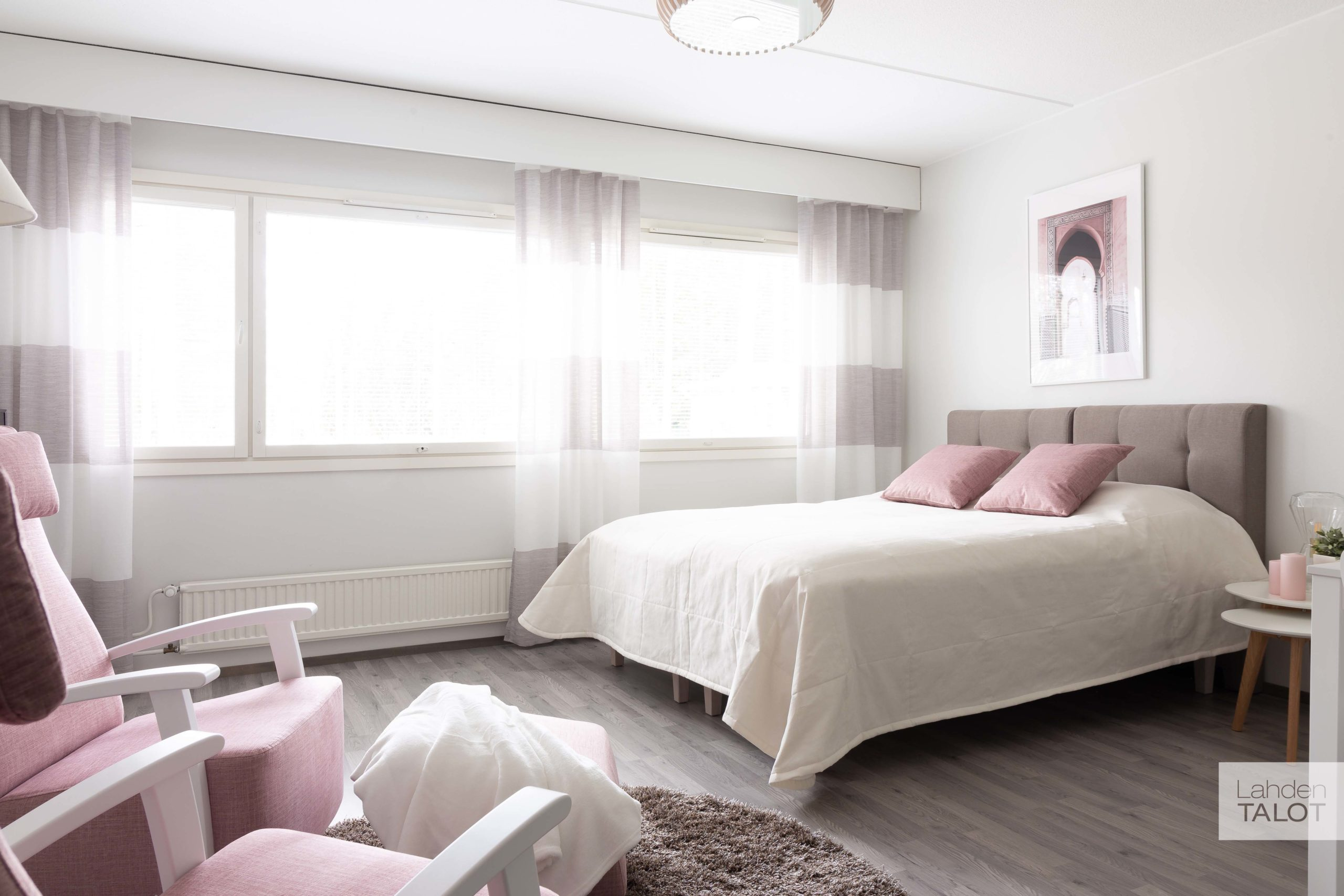 Sykekatu 6 makuuhuone
